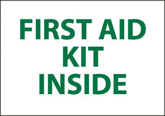 NMC M65R-FIRST AID KIT INSIDE, 7X10, RIGID PLASTIC (1 EACH)