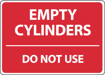 NMC M746AB-EMPTY CYLINDERS DO NOT USE, 10X14, .040 ALUM (1 EACH)