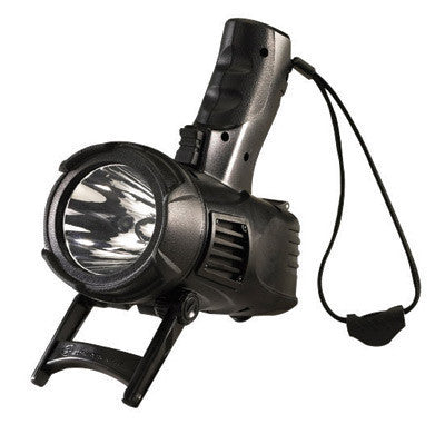 Streamlight 44902 Black Waypoint Non-Rechargeable Pistol Grip Spotlight With 12V DC Power Cord (Requires 4 C Alkaline Batteries - Sold Separately)  (1/EA)