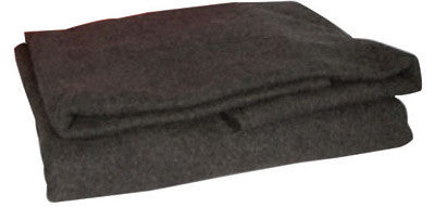 "North by Honeywell 5560390 62"" X 80"" Gray 90% Wool Lightweight Fire And First Aid Blanket  (1/EA)"