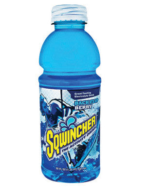 Sqwincher 030530-MB 20 Ounce Wide Mouth Ready To Drink Bottle Backflip Berry Electrolyte Drink (24 Each Per Case)  (24/EA)