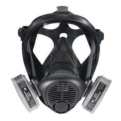 Honeywell 762000 Medium Black Silicone Opti-Fit  Full Face S Series APR Respirator With 5 Point Strap  (1/EA)
