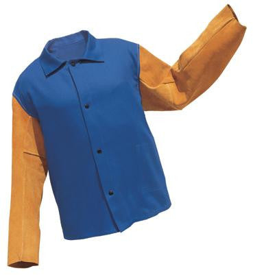 "Radnor 64055161 Royal Blue Medium 30"" Flame Retardant Jacket  (1/EA)"