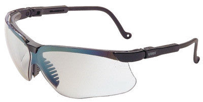 Uvex S3204 By Honeywell Genesis Safety Glasses With Black Polycarbonate Frame And SCT-Reflect 50 Polycarbonate Ultra-dura Anti-Scratch Hard Coat Lens  (1/EA)