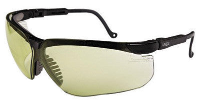 Uvex S3209 By Honeywell Genesis Safety Glasses With Black Polycarbonate Frame And SCT-Low IR Polycarbonate Ultra-dura Anti-Scratch Hard Coat Lens  (1/EA)