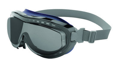 Uvex S3410X by Honeywell Flex Seal Indirect Vent Over The Glasses Goggles With Navy Frame, Gray Uvextreme Anti-Fog Lens And Neoprene Headband  (1/EA)