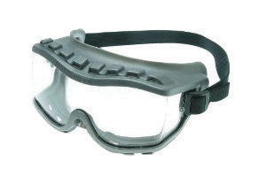 Uvex S3805 by Honeywell Strategy Closed Vent Over The Glasses Goggles With Gray Frame, Clear Uvextra Anti-Fog Lens And Neoprene Headband  (1/EA)