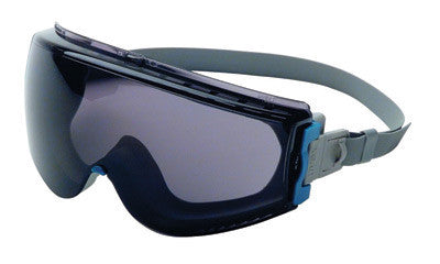 Uvex S39611C by Honeywell Stealth Impact Chemical Splash Goggles With Teal And Gray Frame, Gray Uvextreme Anti-Fog Lens And Neoprene Headband  (1/EA)