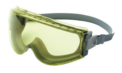 Uvex S3962C by Honeywell Stealth Impact Chemical Splash Goggles With Gray Frame, Amber Uvextreme Anti-Fog Lens And Neoprene Headband  (1/EA)