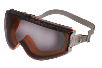 Uvex S39631C by Honeywell Stealth Impact Chemical Splash Goggles With Orange And Gray Frame, Gray Uvextreme Anti-Fog Lens And Neoprene Headband  (1/EA)