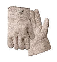 "Wells Lamont 644HRL X-Large Brown And White Jomac Extra Heavy Weight Loop-Out Terry Cloth Heat Resistant Gloves With 2 1/2"" Safety Cuff  (1/PR)"