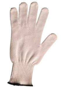 Wells Lamont Y5858S Small White Whizard Cut-Tec Spectra Guard Ultra Light Weight Lycra And Fiber Ambidextrous Cut Resistant Gloves With Spectra Knit Wrist  (1/EA)