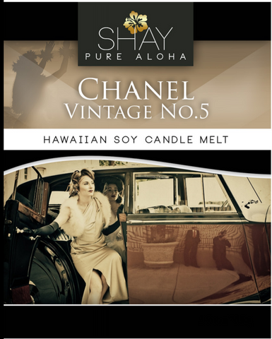 Chanel No.5  Wickless Soy Candle Melts - Shay Pure Aloha Inc