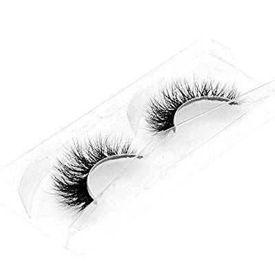 3 Pairs Luxurious Real Mink 3D Natural Cross Thick False Eyelashes Eye Lashes Makeup