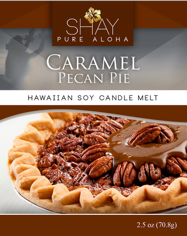 Caramel Pecan Pie Wickless Soy Candle Melts