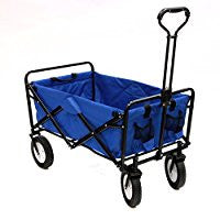 Rental - Collapsible Folding Outdoor Utility Wagon, Blue