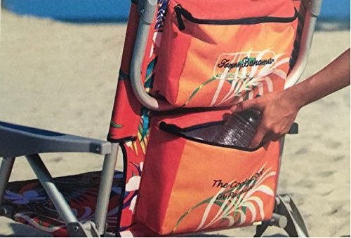 Rental - Tommy Bahama Backpack Cooler Chair with Storage Pouch and Towel Bar