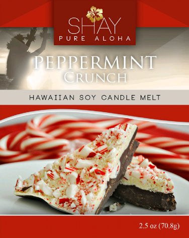 Peppermint Wickless Soy Candle Melt - Shay Pure Aloha Inc