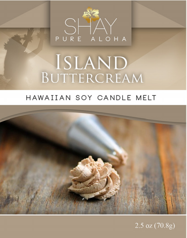 Island Buttercream Wickless Soy Candle Melts