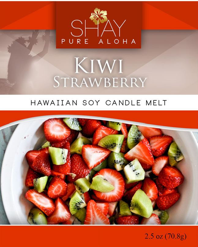 Strawberry Kiwi Wickless Soy Candle Melts