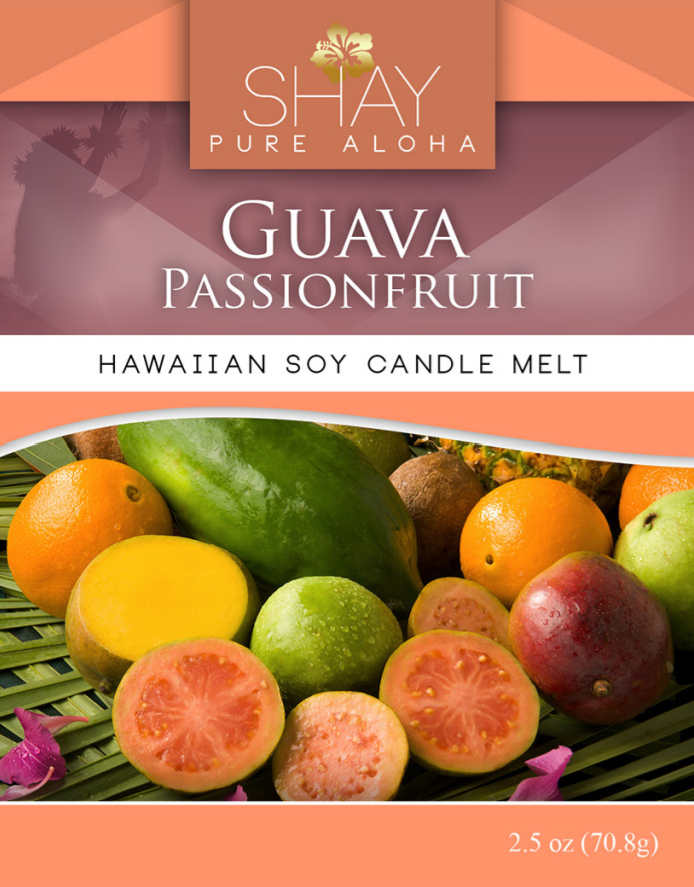 Guava Passion Fruit Wickless Soy Candle Melts