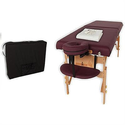 "30"" MASSAGE TABLE WITH HEATING PAD"