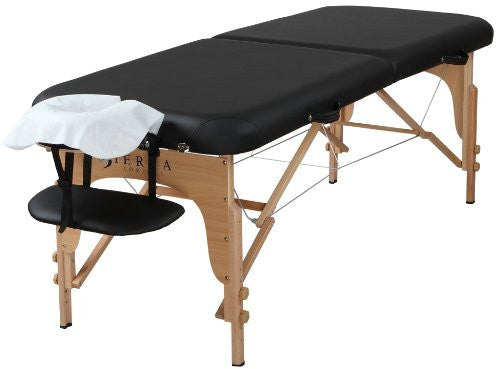 Table Rental -  Sierra Comfort Preferred Portable Massage Table, Black - Oahu Only