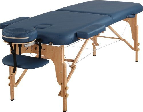 Sierra Comfort Portable Massage Table Royal Blue - Free FEDEX Shipping