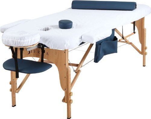 Sierra Comfort Portable Massage Table Royal Blue -Can Deliver