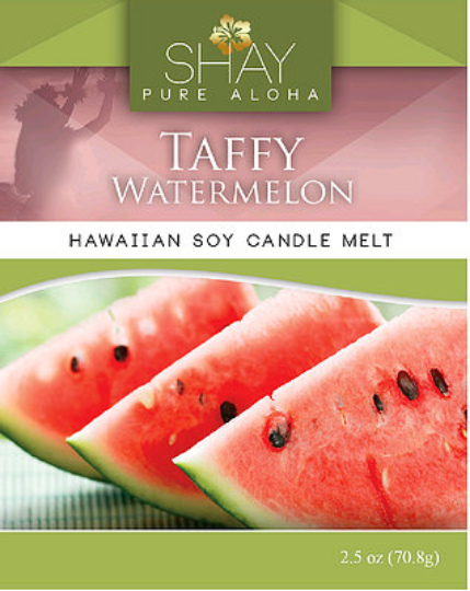 Watermelon Taffy Wickless Soy Candle Melts