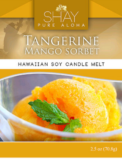 Tangerine & Mango Wickless Soy Candle Melts