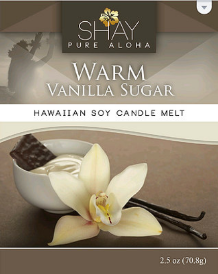 Warm Vanilla Sugar Wickless Soy Candle Melts