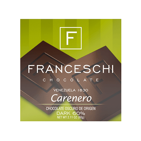 Carenero 60% - Display (12 bars) - Franceschi Chocolate