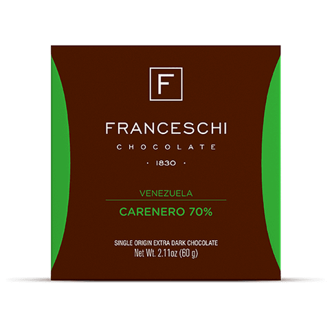 Carenero 70% - Display (12 bars) - Franceschi Chocolate Store