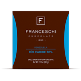 Rio Caribe 70% - Display (12 bars) - Franceschi Chocolate Store