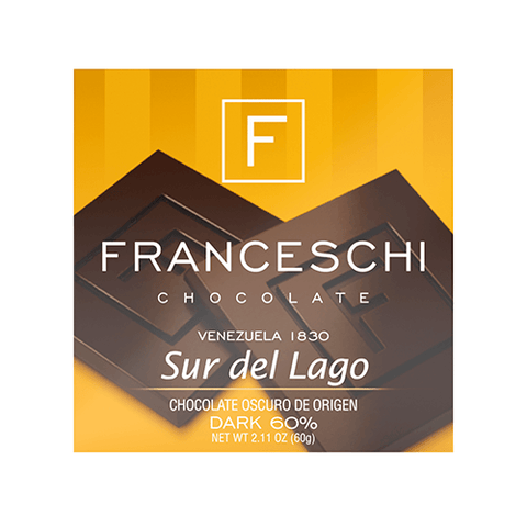 Sur de Lago 60% - Display (12 bars) - Franceschi Chocolate