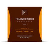 Sur del Lago 70% - Display (12 bars) - Franceschi Chocolate Store