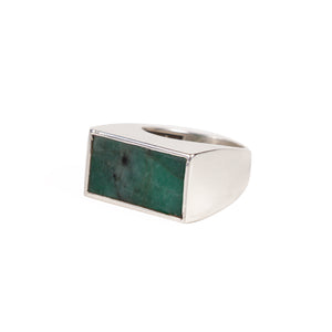 Emerald Slice Ring