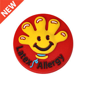 Latex Allergy Charm