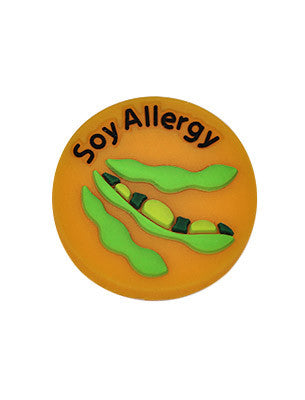 Soy Allergy Charm