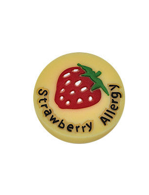 Strawberry Allergy Charm
