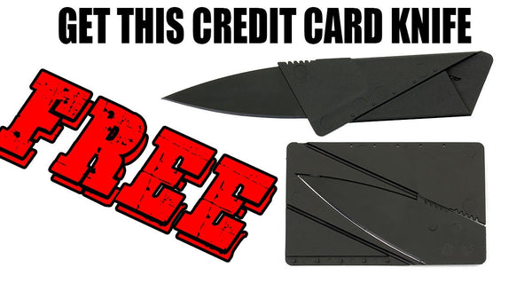 Credit Card Utility Wallet Knife