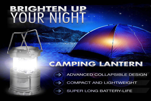 Ultra Bright Portable LED Camping Lantern