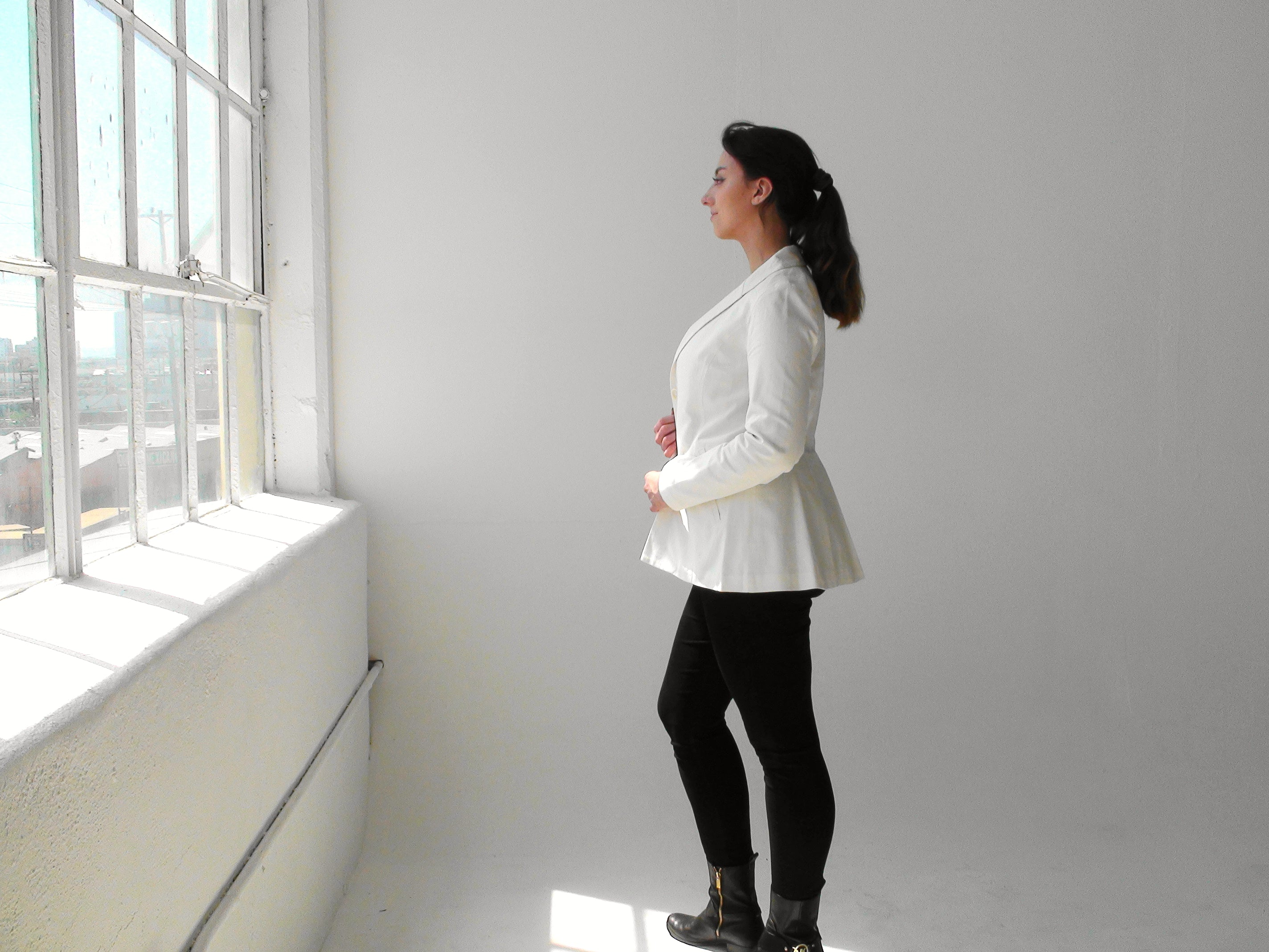 """""""The Kate"""" Linen Women's Blazer Sustainably Made"""