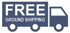 Image of Truck with Signage: Free Ground Shipping