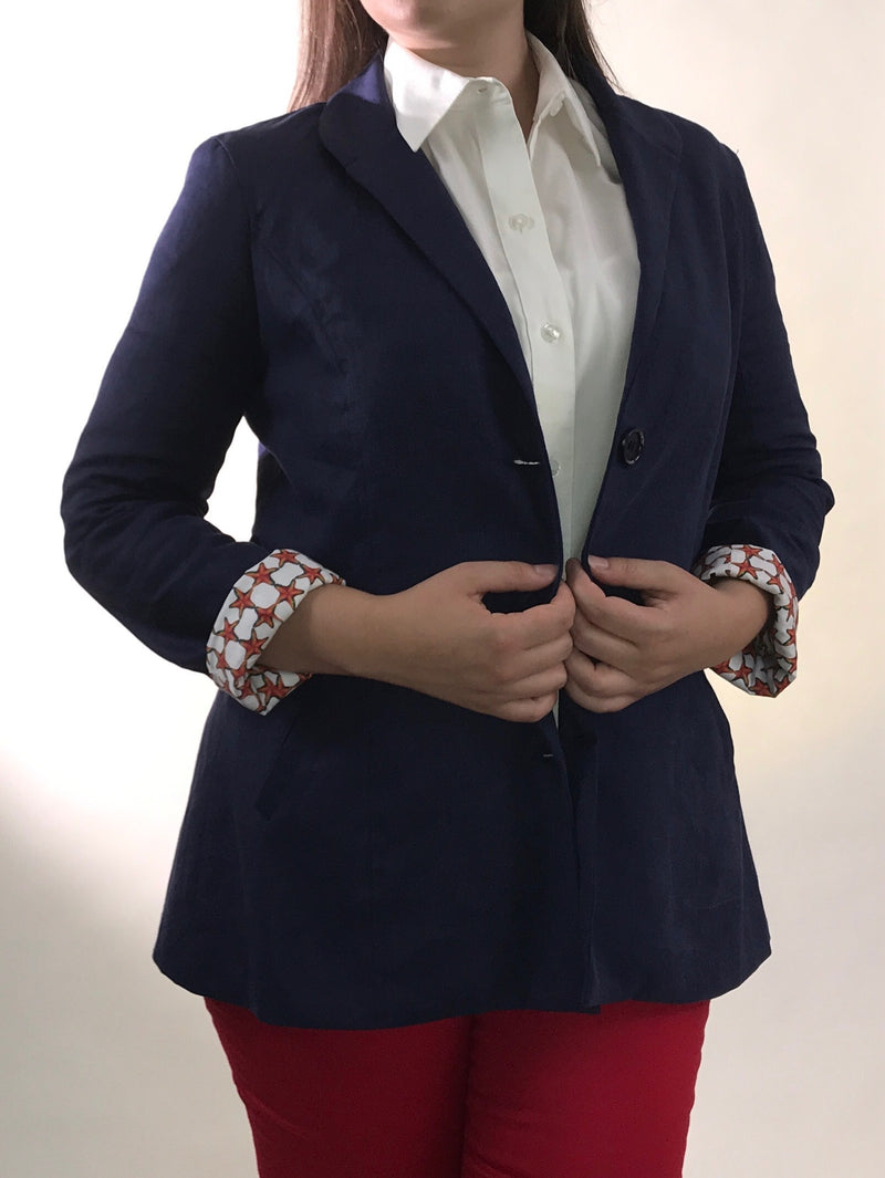 [women's blazers sustainably made] - Connecticut Country Clothing