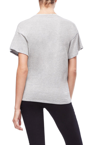 Grey Sealed With a Twist Tee