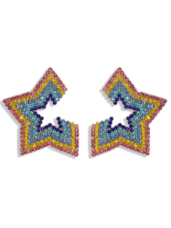 Star Studded Earrings