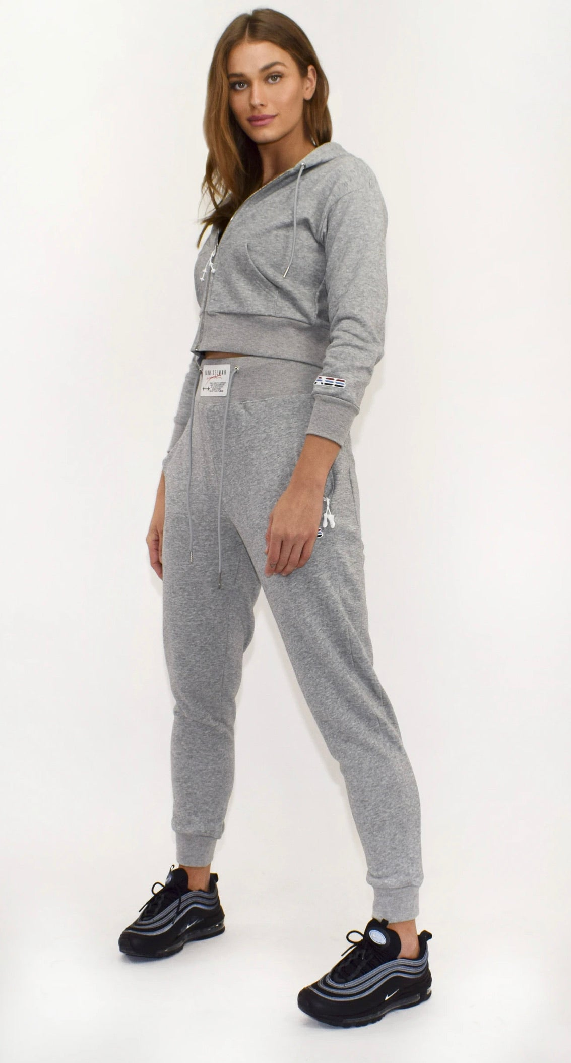 Heather Hi-Rise Sweatpant