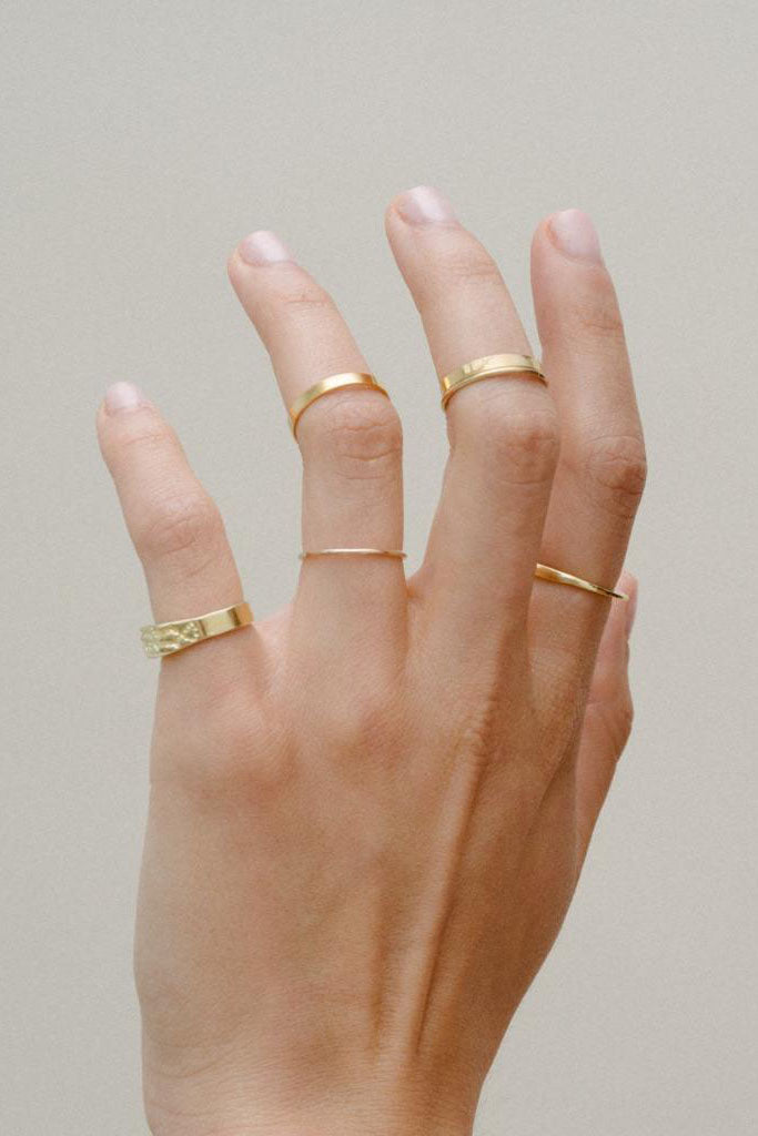 Gold Filled Wire Ring